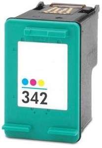 f2de6754f2f HP 342 (C9361EE) inktcartridge 3 kleuren 17ml (compatible) CHP-342 by