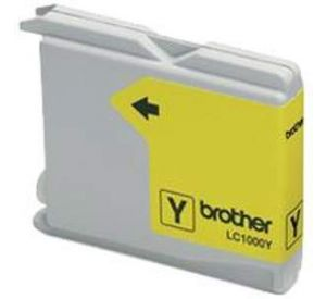 Brother LC-1000Y inktcartridge geel 12ml (huismerk) BC-LC-1000Y