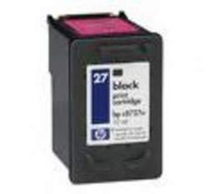 HP 27 inktcartridge zwart 19ml (compatible) CHP-027
