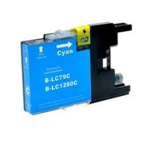 Brother LC-1280XLC inktcartridge cyaan 24,6ml (huismerk) BC-LC-1280XLC