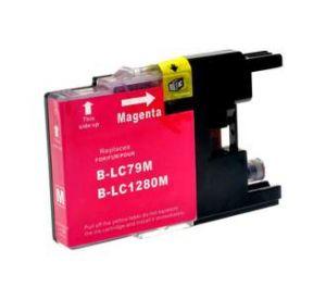 Brother LC-1280XLM inktcartridge magenta 24,6ml (huismerk) BC-LC-1280XLM