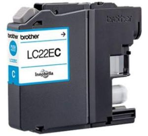 Brother LC-22EC inktcartridge cyaan (origineel) BR-LC-22EC
