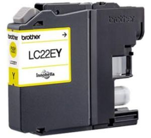 Brother LC-22EY inktcartridge geel (origineel) BR-LC-22EY