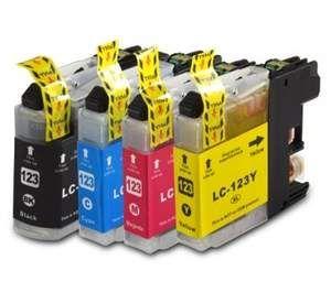 Brother LC-123 voordeelset 8 stuks met chip (huismerk) zelf samenstellen BC-LC-0123ZVP008zelf