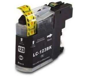Brother LC-123BK inktcartridge zwart 20,6ml (huismerk). BC-LC-0123BK