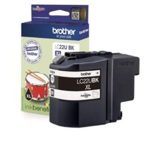 Brother LC-22UBK XL inktcartridge zwart (origineel) BR-LC-22UBK