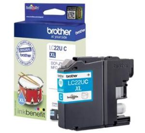 Brother LC-22UC XL inktcartridge cyaan (origineel) BR-LC-22UC