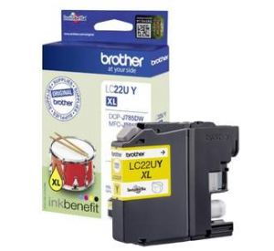 Brother LC-22UY XL inktcartridge geel (origineel) BR-LC-22UY