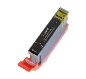 Canon CLI-8Bk inktcartridge zwart met chip 13,8 ml (huismerk) CC-CLI-08BK-chip