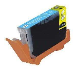 Canon CLI-8PC inktcartridge foto cyaan met chip 13,8 ml (huismerk) CC-CLI-08zPC-chip