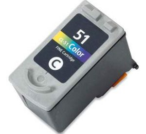 Canon CL-51 inktcartridge kleur (huismerk) CC-CL51