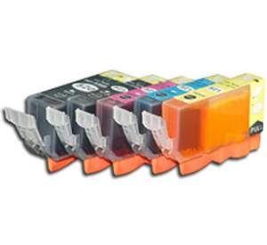 Canon PGI-520 / CLI-521 voordeelset 25 stuks MET CHIP (huismerk) CC-CLI9-VP25c