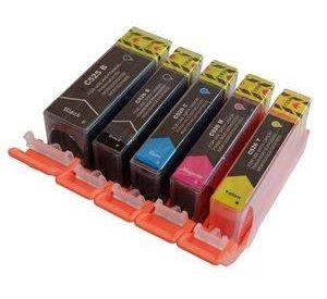 Canon PGI-525 / CLI-526 voordeelset 5 stuks met chip (huismerk) zelf samenstellen CC-CLI9a-VP05c-zelf