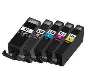 Canon PGI-525 / CLI-526 voordeelset 10 stuks met chip (huismerk) zelf samenstellen CC-CLI9a-VP10c-zelf
