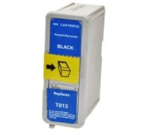 Epson T013 inktcartridge zwart 16ml met chip (compatible) EC-T0013