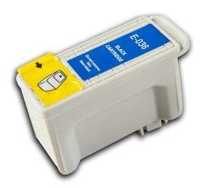 Epson T036 inktcartridge zwart 12ml met chip (huismerk) EC-T0036