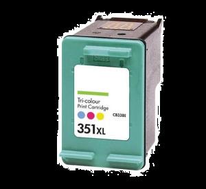 HP 351XL inktcartridge 3 kleuren hoge capaciteit 22ml (huismerk) CHP-351XL