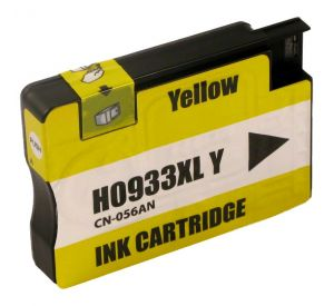 HP 933XL / CN056AE inktcartridge geel 14ml met chip (huismerk) CHP-933XLCY