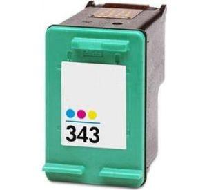 HP 343 (C8766EE) inktcartridge 3 kleuren 17ml (huismerk) CHP-343