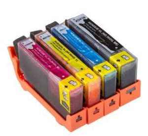 HP 364XL inktcartridge voordeelset 8 stuks met chip (huismerk) CHP-364XLC7
