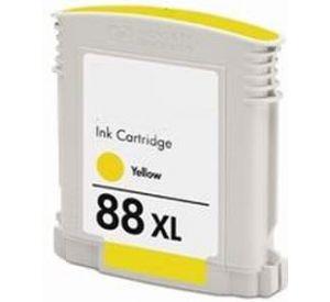 HP 88XL (C9393AE) inktcartridge geel hoge capaciteit 17,1ml (huismerk) CHP-088XLY