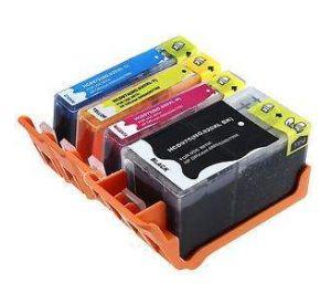 HP 920XL inktcartridge voordeelset 8 stuks met chip (huismerk) zelf samenstellen CHP-920XL08zelf