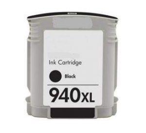 HP 940XL (C4906AE) inktcartridge zwart hoge capaciteit 72ml (huismerk)   CHP-940XLBK