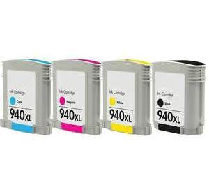 HP 940XL (C2N93AE) multipack inktcartridges hoge capaciteit (huismerk) CHP-940XLZ
