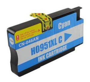 HP 951XL / CN046AE inktcartridge cyaan hoge capaciteit 27ml met chip (huismerk) CHP-951XLCC