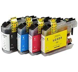 Brother LC-223 voordeelset 8 stuks met chip (huismerk) BC-LC-0223ZVP008