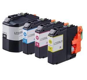 Brother LC-229XL en LC-225XL voordeelset 8 stuks met chip (huismerk) BC-LC-0229ZVP008