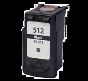 Canon PG-512 inktcartridge zwart 15ml (huismerk) CC-CG-512BK